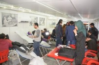 HÜKÜMET KONAĞI - Cizrelilerden Kan Bağışına Yoğun İlgi