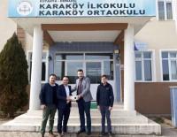 KARAKÖY - Domaniç Ülkü Ocakları Başkanlığı, Okula Projeksiyon Cihazı Bağışladı