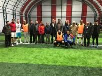 GÖKMEN - Hanak Kurumlar Arası Futbol Turnuvasının Başlama Vuruşunu Baydar Yaptı
