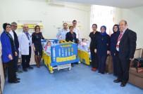 BALıKESIR DEVLET HASTANESI - Hayırseverlerden Devlet Hastanesine Destek