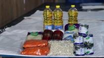 BINGAZI - İHH'dan Libya'daki Sığınmacı Ailelere Gıda Yardımı