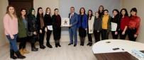 GEBZE BELEDİYESİ - Kadın Antrenörler, Başkan Köşker'i Ziyaret Etti