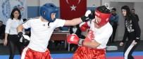 CENTİLMENLİK - Kick Boks İl Birinciliği İçin Mücadele Ettiler