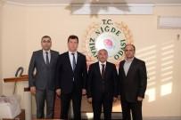 HIKMET BEKIL - Niğde Belediye Başkanı Özkan STK Ziyaretlerini Sürdürüyor