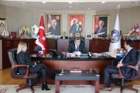 EĞİTİM DÜZEYİ - Okul Aile Birliği Yönetimi Başkan Yemenici'yi Ziyaret Etti