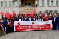 CEYLANPINAR - Osmanlı Ocakları'ndan Başkan Atilla'ya Ziyaret