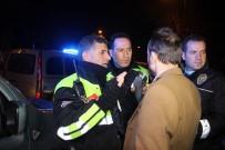 ARAÇ KULLANMAK - Polisten Kaçan Alkollü Sürücü Yakalanınca Avukat Kimliği Göstermek İstedi