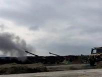 ÖZGÜR SURİYE ORDUSU - PYD Hedefleri Ateş Destek Vasıtalarıyla Vuruluyor