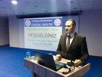 ECZACI ODASI - Sağlık Müdürü Hirik, Hekimlerin Eczacılardan Beklentilerini Anlattı