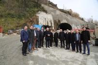 ORMAN VE SU İŞLERİ BAKANLIĞI - Salarha Tüneli'nin Yüzde 70'İ, Isırlık Mesire Alanı'nın İse 1. Etabı Tamamlandı