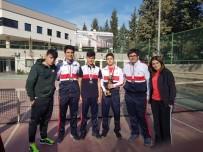 EMRE BAYRAM - SANKO Okullarının Tenis Takımı İl İkincisi Oldu