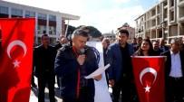 SÜLEYMAN ŞAH - Sarıgöl Eğitim-Bir-Sen'den Mehmetçik'e Destek Açıklaması