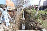 HÜSEYIN YARALı - Saruhanlı'da Yedek 10 Su Kanalı Kapalı Sisteme Çevriliyor