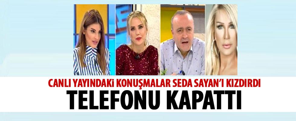 Seda Sayan'ı kızdıran sözler
