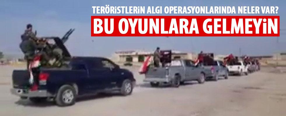 Teröristlerden Afrin oyunu