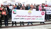 GREV - Tunus'ta Akademisyenlerden Protesto