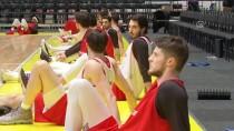 LETONYA - A Milli Basketbol Takımı'nda İsveç Maçı Hazırlıkları