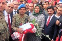 ARAÇ KONVOYU - Afrin'e Giden Özel Birliklere Çok Özel Karşılama