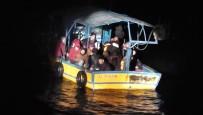 KıZKALESI - Akdeniz Açıklarında 5'İ Çocuk 38 Düzensiz Göçmen Yakalandı