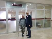 Ayağını Kaybeden Gazi 22 Yıl Sonra Yürüyebilecek