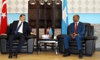 SOMALİ CUMHURBAŞKANI - Başbakan Yardımcısı Çavuşoğlu, Somali'de