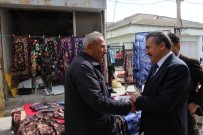 Başkan Tutal Pazar Esnafı İle Buluştu