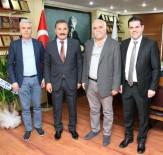 HÜSEYIN GÜLER - Capital Ticaret Merkezi'nden Hamit Tuna'ya Ziyaret