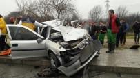 KORUCUK - Denizli'de Trafik Kazası Açıklaması 1 Ölü
