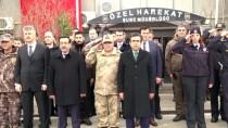 DİYARBAKIR EMNİYET MÜDÜRLÜĞÜ - Diyarbakır'dan PÖH'ler Dualarla Afrin'e Uğurlandı
