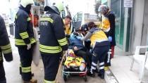 Edirne'de Kamyonetle Otomobil Çarpıştı Açıklaması 3 Yaralı
