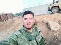 HAVAN MERMİSİ - Garnizon Komutanı Çakmak, Afrin Gazisini Ziyaret Etti