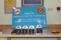 KRİPTO - Hamzabeyli'de Kripto Para Yapımında Kullanılan Makine Ele Geçirildi