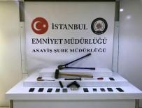 HIRSIZLIK ÇETESİ - İstanbul'da Cep Telefonu Bayilerini Soyan Hırsızlık Çetesi Çökertildi
