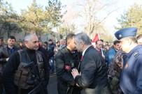 KAYSERİ ŞEKER FABRİKASI - Kayseri PÖH'leri Afrin'e Dualarla Yolcu Etti
