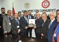 GÜNEY KıBRıS - KKTC Ekonomi Bakanı Nami, İstanbul Sanayici Ve İşinsanları Dernekleri Federasyonu Heyeti İle Bir Araya Geldi