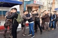 ALİ İHSAN SU - Mersin'de Özel Hareket Polisleri Afrin'e Uğurlandı