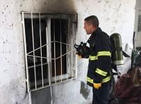 ÇAVUŞLU - Midyat'ta Ev Yangını