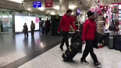 Milli basketbolcular İsveç'e gitti