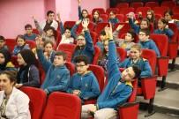 ALTıN KÜRE - Öğrenciler Su İle İlgili Sorularını SASKİ Uzmanlarına Sordu