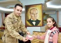 ÇALıKUŞU - Öğrencilerden Askerlere Duygu Dolu Mektup