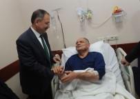 BIÇAKLI SALDIRI - Özhaseki'den Saldırıya Uğrayan Belediye Başkanına Ziyaret