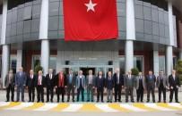 DOĞUM GÜNÜ PASTASI - Rektörler OMÜ'ye Hayran Kaldı