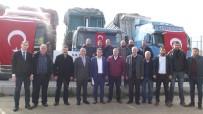 İBRAHIM GÜVEN - Taşıyıcılardan Mehmetçik Vakfı'na 100 Bin TL Bağış