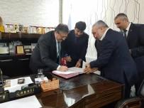 TOPLU İŞ SÖZLEŞMESİ - Tomarza Belediyesinde Toplu İş Sözleşmesi İmzalandı