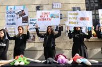 MUSTAFAPAŞA - Üniversite Öğrencileri Çocuk İstismarlarına Karşı Güvercin Uçurdu