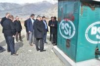 ÇARDAKLı - Vali Arslantaş, Sulama Kanallarında İncelemelerde Bulundu