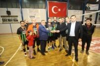 MEHMET FATIH ÇIÇEKLI - Voleybol Turnuvasında Halk Özel Harekatı Birinci Oldu