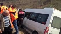 Zonguldak'ta Minibüs Devrildi Açıklaması 9 Yaralı
