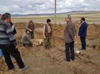 HAYVAN PAZARI - Aslanapa'da Hayvan Pazarının İnşaatına Başlandı