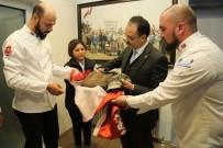 NURULLAH CAHAN - Başkan Cahan'a Afrin'den Büyük Emanet